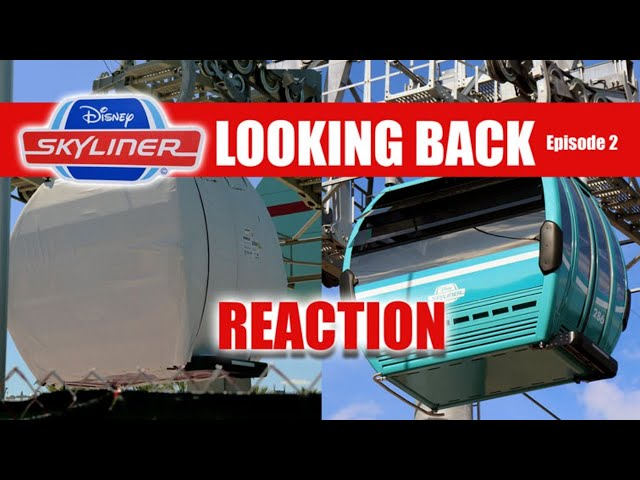 LIVE: Disney Skyliner REACTION - Looking Back At Past Construction Through The Years - Episode Two