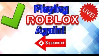 ROBLOX Live Stream! - Road to 500 Subs!