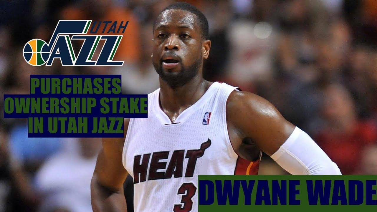 Dwyane Wade buys ownership stake in Utah Jazz, wants hands-on ...
