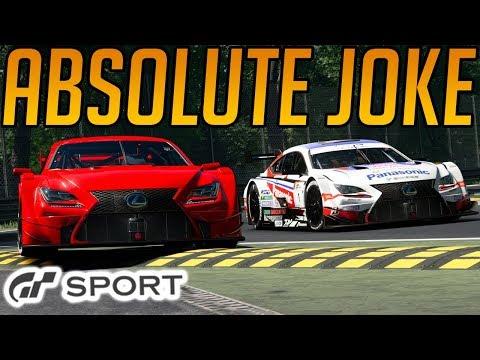 Gran Turismo Sport: Absolute Joke of a Race thumbnail
