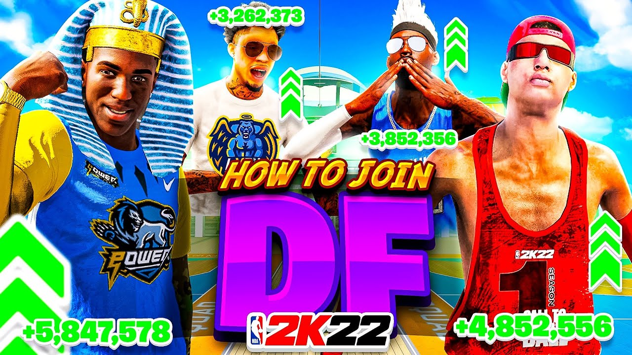 HOW TO JOIN THE DF CLAN in NBA 2K22 • BEST CLAN IN 2K HISTORY (DEDICATED FOREVER)