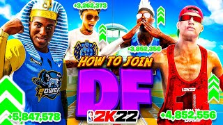 HOW TO JOIN TΗE DF CLAN in NBA 2K22 • BEST CLAN IN 2K HISTORY (DEDICATED FOREVER)