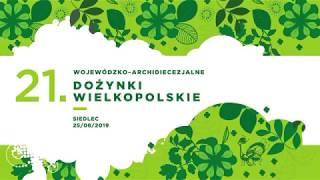 Dożynki Wojewódzkie 2019 - zaproszenie