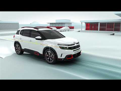 New Citroën C5 Aircross SUV - Progressive Hydraulic Cushions