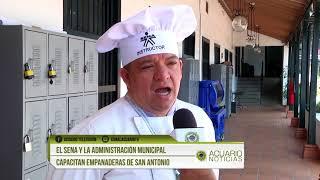El Sena y la Administración Municipal capacitan empanaderas de San Antonio