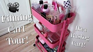 Gambar cover Nail Studio Filming Cart!    Ikea Raskog Cart