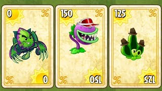 Plants vs Zombies 2 Gameplay Endless Zone Danger Room