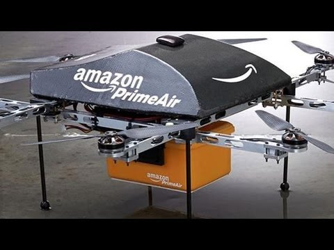 Coming Soon: Amazon Package Delivery Via Drones. WAIT WHAT?!?!?!