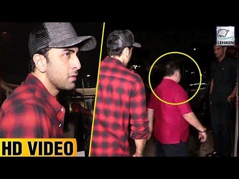 Ranbir Kapoor Embarrassed By Rishi Kapoor's RUDENESS Towards Fan   LehrenTV