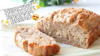 Healthy Banana Bread! Vegan, Delicious & Easy Recipe