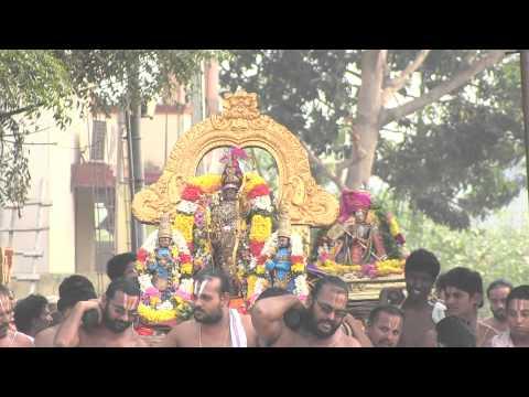 Kanchi Varadarajan Anushtanakulam Uthsavam_Thirumbukal to Desikan Sannidhi_8m 20s