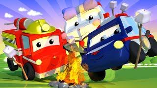 Schreckliche Geschichten - Lerne mit den kleinen Trucks 👶 🚚 Lehrreiche Cartoons für Kinder