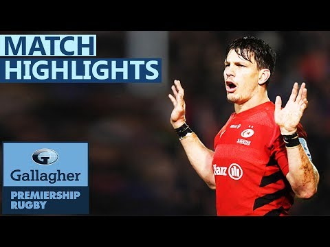 Bath 18-9 Saracens | Sarries Suffer Setback In Title Race | Gallagher Premiership - Highlights