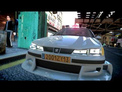 Gta Iv Peugeot 406 Taxi 2 Youtube