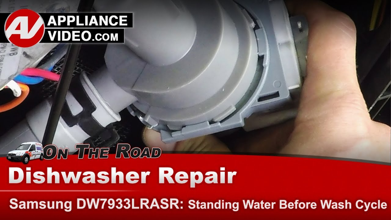 Samsung Dishwasher Not Finishing A Cycle Drain Pump Diagnostic Repair Youtube