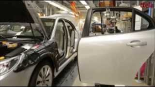 Saab 9-3 NEVS Assembly: Final Production line, March 2014