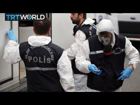 Breaking News: Turkish teams search Saudi consul's home