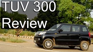 Mahindra TUV 300 Review- Is It Worth Buying?