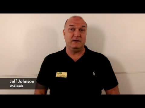 Jeff Johnson, UABTeach Master