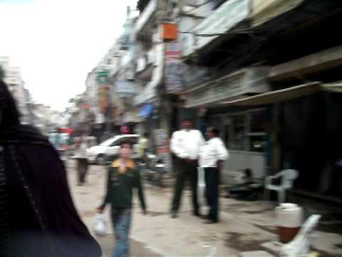 Old Delhi. Las niñas en India. Agosto2010.