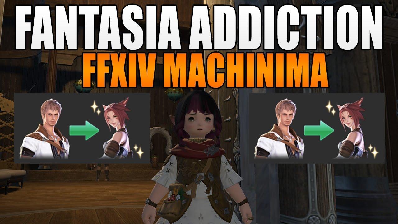 FFXIV Fantasia Addiction (FFXIV Machinima Short)