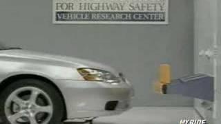Bumper Crash Test: 2007 Subaru Legacy