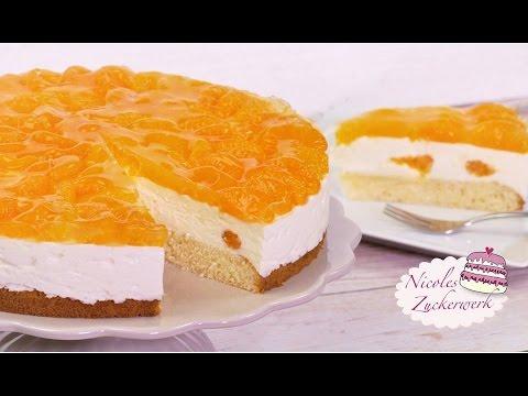 Mandarinen Joghurt Torte I Frisch Und Fruchtig I Rezept Von Nicoles