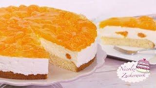 Mandarinen-Joghurt-Torte I frisch und fruchtig I Rezept von Nicoles Zuckerwerk