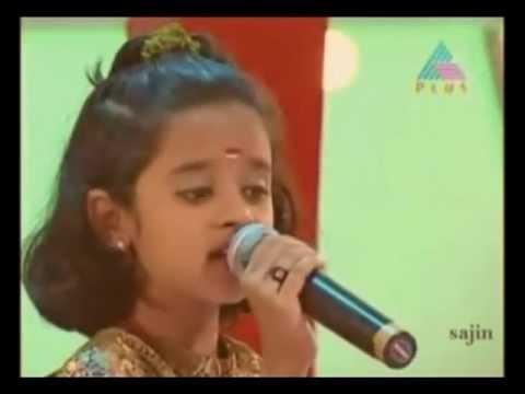 """Sathyam Sivam Sundaram..."" Poornasree - Little Masters - Asianet"