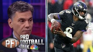 How much did weather impact San Francisco 49ers-Ravens game?  | Pro Football Talk | NBC Sports