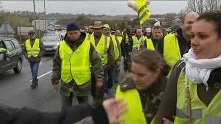 """A Saintes, près de 1000 """"gilets jaunes"""" réunis pour """"l'acte IV"""" de la mobilisation"""
