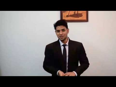 McCombs MBA Admission- Video Introduction- Shubham Jain