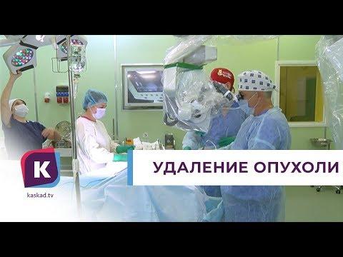 В Калининграде у 38‑летней пациентки удалили опухоль головного мозга размером с апельсин