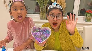 Ishfi and Aunty's Playtime with Slime