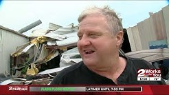 Homes, businesses destroyed by tornado in Haileyville