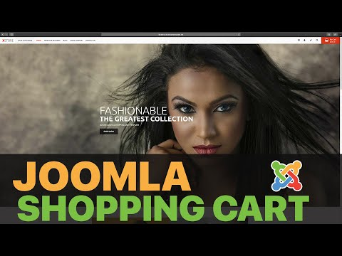[2020 ] Build A Custom Shopping Cart With Joomla - FULL COURSE