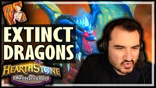 THESE DRAGONS ARE ALMOST EXTINCT! - Hearthstone Battlegrounds