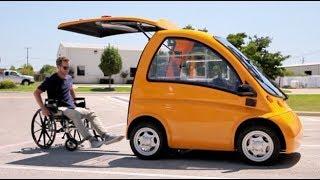Кенгуру Электромобиль для инвалидов-колясочников | Kenguru car | Новинки Наука и техника