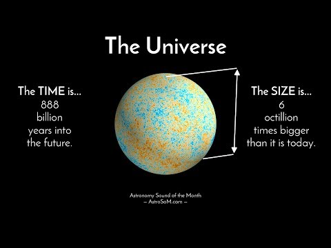 The Sound of our Universe Expanding