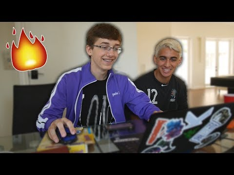 Two Idiots Make Beats with Fire Samples