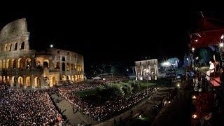 EN VIVO: El papa Francisco lidera el viacrucis de Viernes Santo en Roma