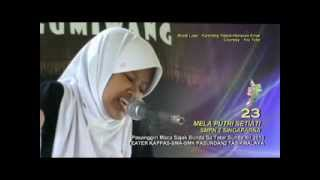 Sajak Sunda - SERAT GUMIWANG  - LANGLAYANGAN PEUTING - Ku MELA PUTRI - SMPN 2 SINGAPARNA