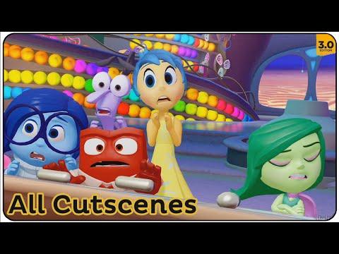 Disney Infinity 3.0 All Cutscenes (Inside Out)