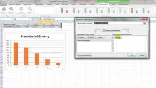 Excel - Wykres zależności 2 wartości plus etykiety, trend i nazwy osi - porada #76