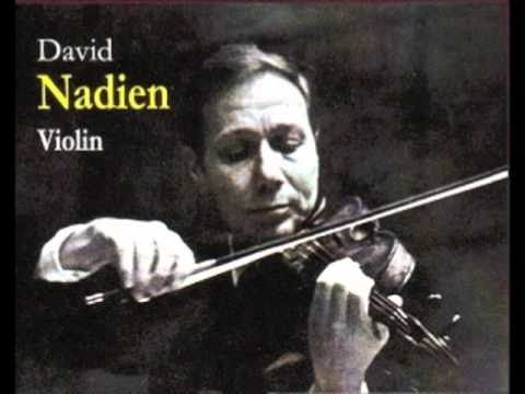 David Nadien plays Elgar's Salut d'Amour