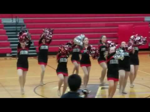 Valley Stream South High School's J.V. KICKLINE INTRADISTRICT PERFORMANCE!!!