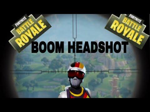 BOOM HEADSHOT!  Sniper Montage Fortnite Battle Royale