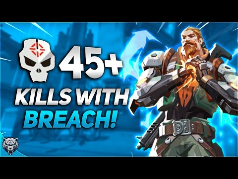 Aggressive 45+ Kill Game With Breach | Valorant Match Highlights