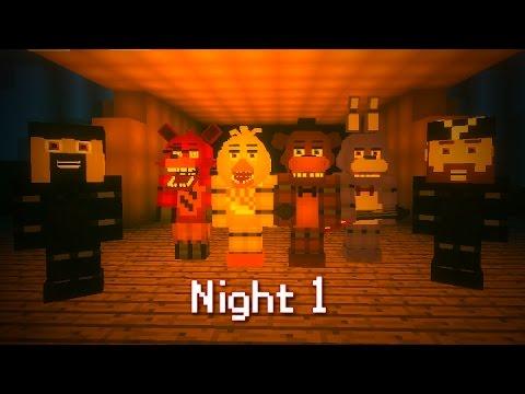 MINE Nights at Freddy's FUN PARK | Night 1 | FNAF Minecraft Roleplay
