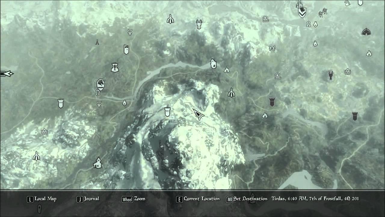 Skyrim Mods - A Quality World Map - YouTube